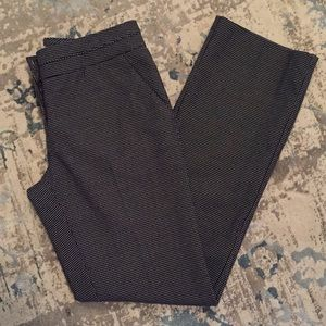 Black Pants with White Polkadots